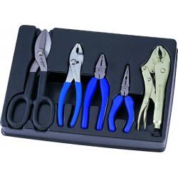 Termoformado de alicates y cizallas - 5 piezas
