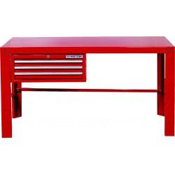 Mesa de taller con cajones