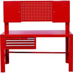 Mesa de taller con Cajones-Panel perforado-Armarios