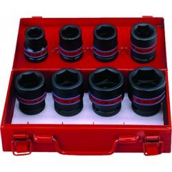 """Caja de vasos de impacto 3/4"""" en pulgadas - 8 piezas"""