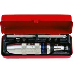 Caja de destornillador de golpe y accesorios - 8 piezas