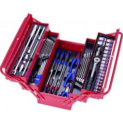 Caja de herramientas completa - 63 piezas