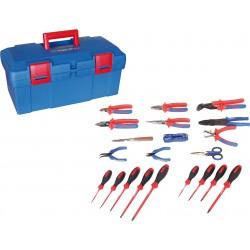 Caja de herramientas Electricidad - 21 piezas
