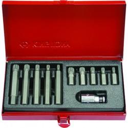 Caja de puntas XZN® 10mm - 11 piezas