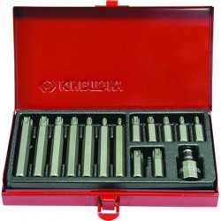 Caja de puntas TORX® 10mm - 15 piezas