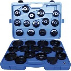 Cofre de llaves cazoleta para filtro de aceite - 30 piezas