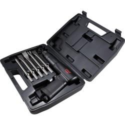 Caja martillo cincelador con accesorios - 7 piezas