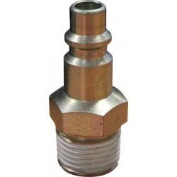 Conector roscado Macho ISO 6150