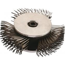 Cepillo metálico