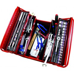 Caja de herramientas completa - 77 piezas