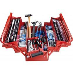 Caja de herramientas completa - 132 piezas