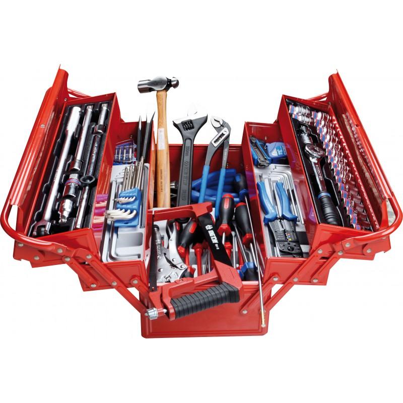 Caja de herramientas completa 132 piezas interdiesel - Caja de herramientas ...