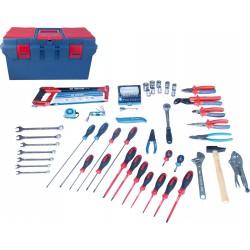 Caja de herramientas Electricidad - Electromecánica - 70 piezas