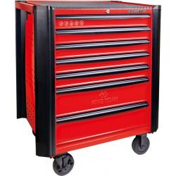 Carro para taller -Bumper- Rojo