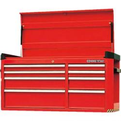 Cofre metálico - 8 cajones con compartimento superior