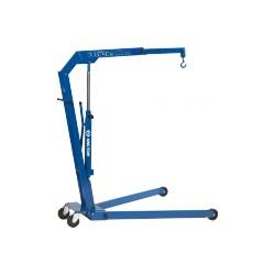 Grúa de taller hidráulica para talleres y talleres móviles 1.1 Toneladas
